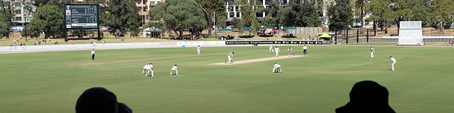 Sheffield Shield Returns to the CitiPower Centre