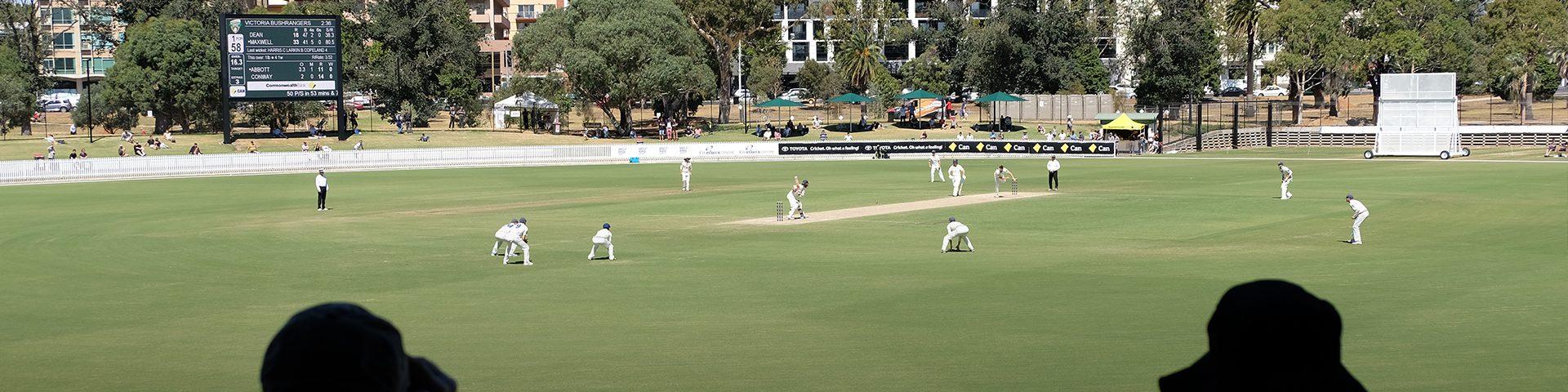 Victoria Triumph in Junction Oval Return