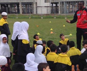Cricket Clinic Program at Al Siraat