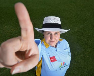 Female umpires falling in love with game again