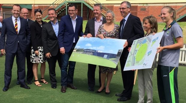 Funding for the Victorian Cricket and Community Centre fast-tracked