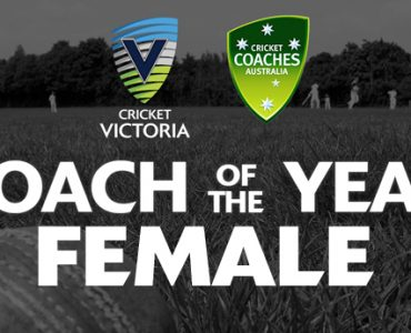 CV & CCA Female Coach of the Year