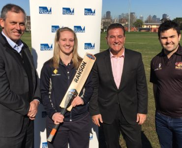 Victorian Government announces unprecedented funding for grassroots cricket
