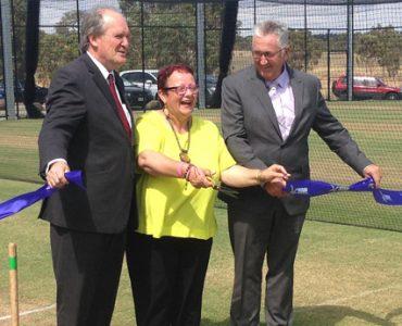 Greenvale Kangaroos unveil new turf nets