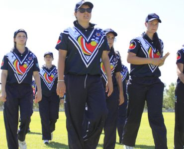 Victoria on the board at the National Indigenous Championships