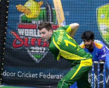 Australia in box seat at Indoor World Cup