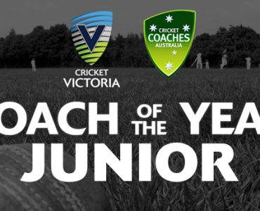 CV & CCA Junior Coach of the Year
