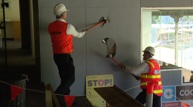 Victorian Cricket and Community Centre works commence