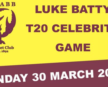 Luke Batty T20 Celebrity Game this Sunday