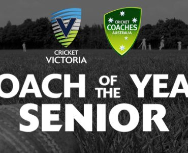 CV & CCA Senior Coach of the Year