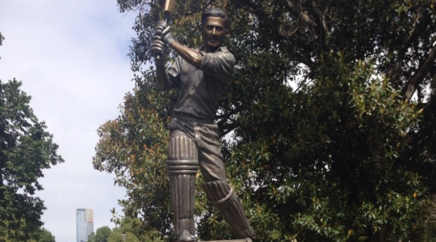 Harvey honoured with statue