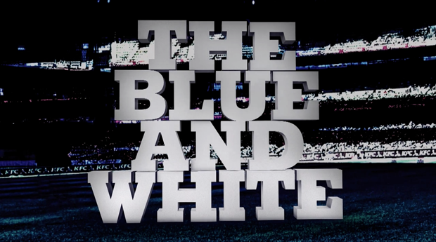 The Blue and White