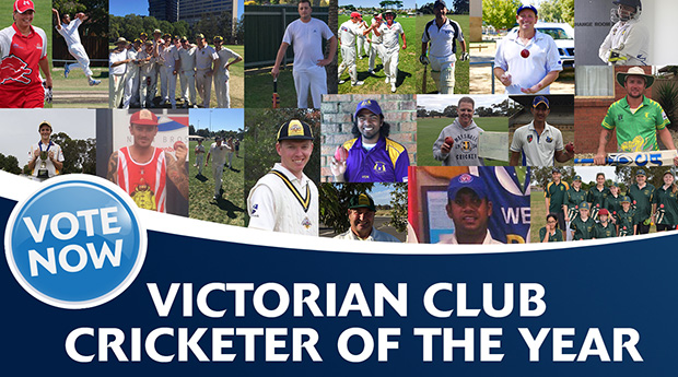 Victorian Club Cricketer of the Year voting now open