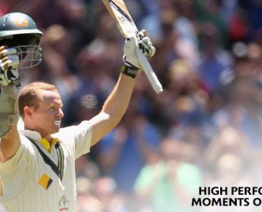 2XU High Performance Moment #1 – Chris Rogers' Boxing Day Test century