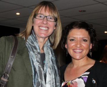 Julie Savage and Claudia Fatone receive VWCA Life Membership