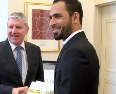 Victorian spinner Fawad Ahmed receives Australian Citizenship