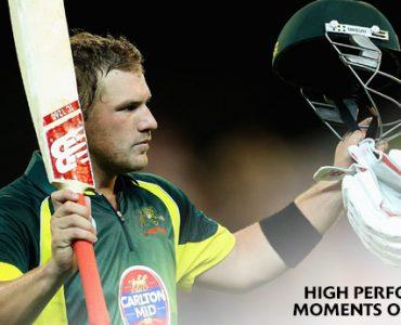 2XU High Performance Moment #4 鈥 Aaron Finch's ODI MCG century