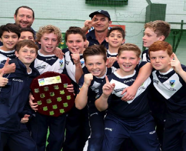 Vics crowned National Champs