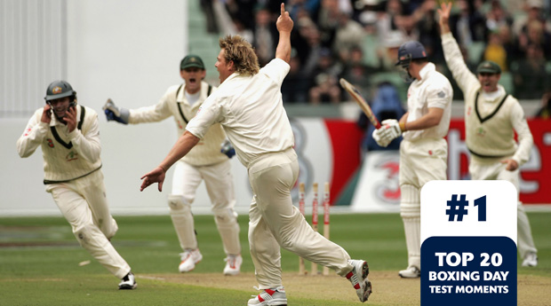Boxing Day Test Memorable Moments #1 – Warne's 700th wicket