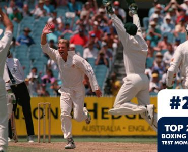 Boxing Day Test Memorable Moments #2 – Warne's hat trick