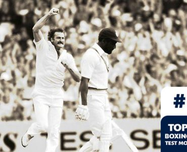 Boxing Day Test Memorable Moments #3 – Last ball Lillee gets Viv