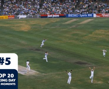Boxing Day Test Memorable Moments #5 – Border and Thomson鈥檚 last wicket stand