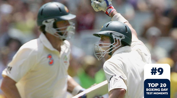 Boxing Day Test Memorable Moments #9 – McGrath helps Hussey to century