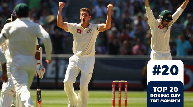 Boxing Day Test Memorable Moments #20 鈥 Pattinson and Siddle lead the attack