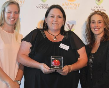 Volunteers honoured at the Boxing Day Test