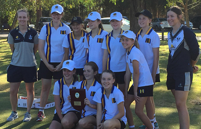 Cricket Victoria bring Girls cricket competition to AGSV/APS Co-Educational schools.