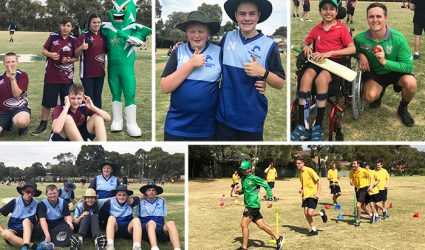 Cricket Victoria and South East Special Schools Sports Association host successful T20 Blast day