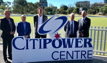Cricket Victoria, CitiPower, Powercor and United Energy sign major new partnership
