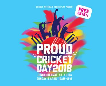 Proud Cricket Day at Junction Oval