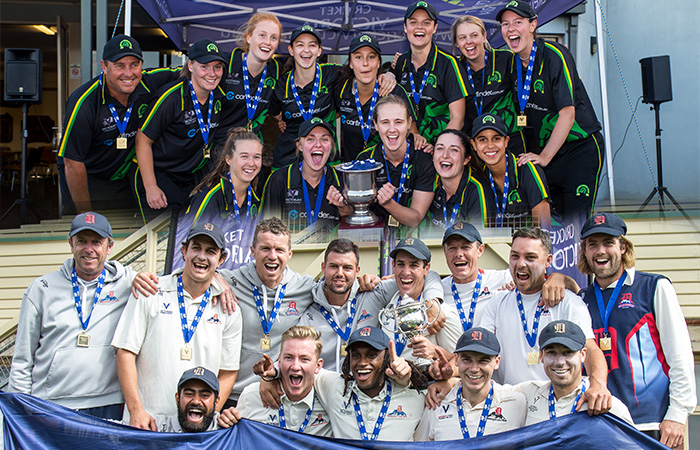 Premier Cricket 2017-18 finals run and won