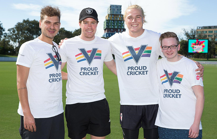 Cricket Victoria paving the way in sport for LGBTI+ inclusion