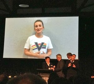 Cricket Victoria toasted at Pride in Sport Awards