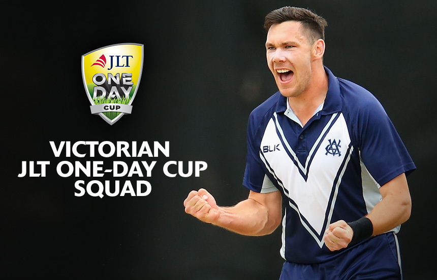 Victorian JLT One Day Cup Squad named