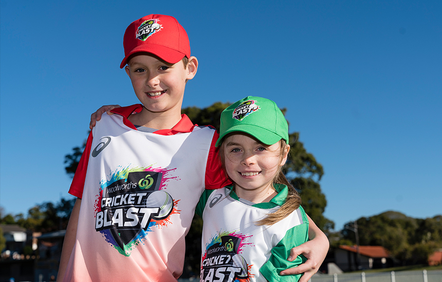 Woolworths Cricket Blast School Holiday Programs