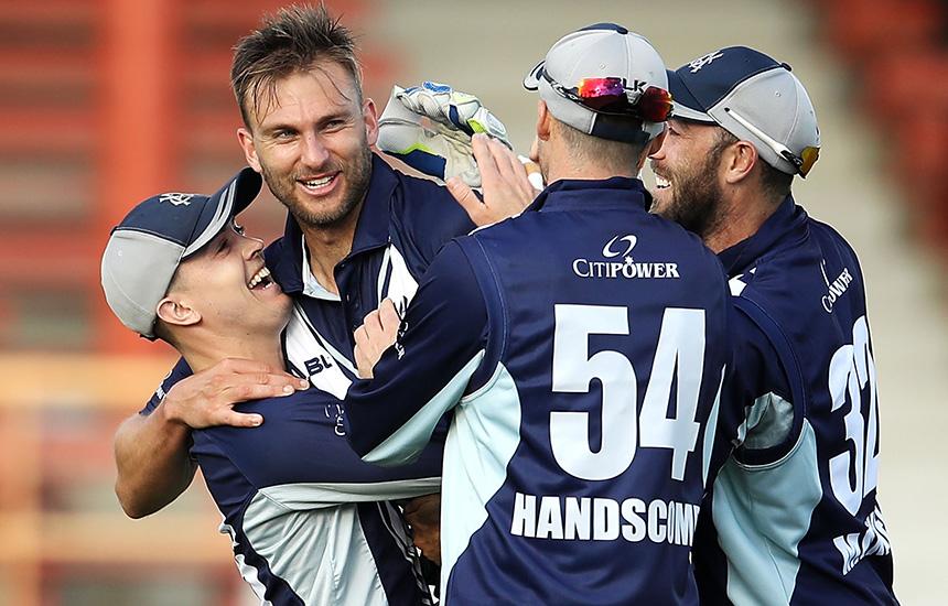 White, Coleman help Vics triumph