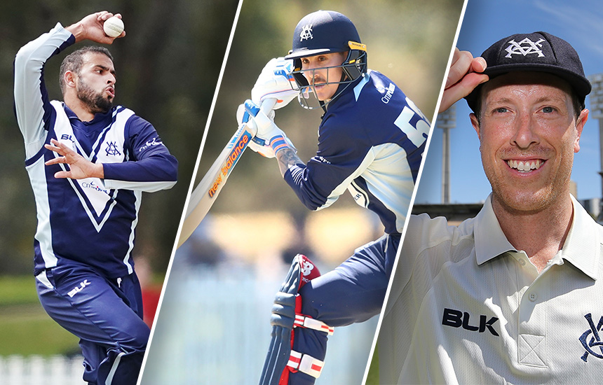 Nic Maddinson, Fawad Ahmed and Andrew Fekete upgraded to Victorian contracts