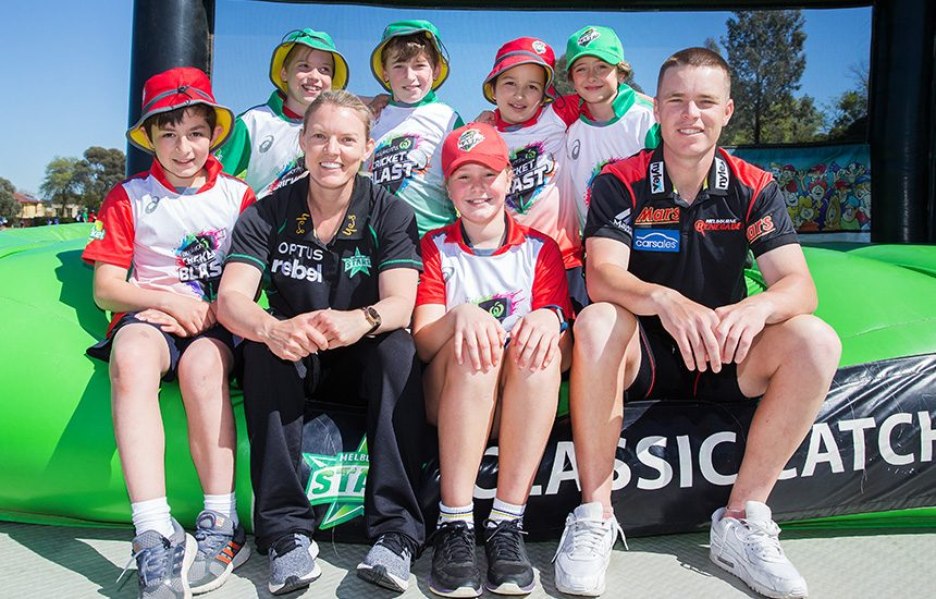 Woolworths Cricket Blast launches in Victoria
