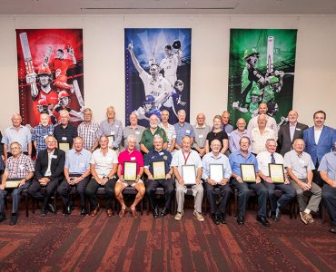 Cricket Victoria celebrates 50-Year Volunteers