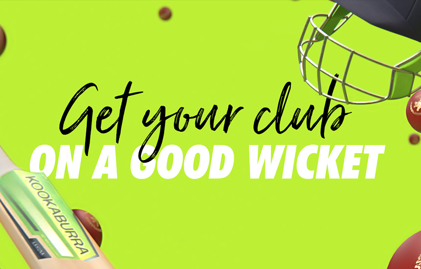 "Register your local club as a ""Good Club"" for a chance to win $5,000 worth of equipment"