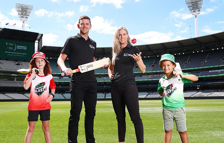 Australian cricketers lead landmark investment for grassroots cricket