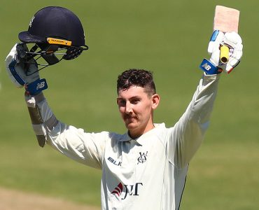 Maddinson hits second straight century for Victoria