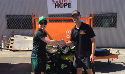 Reclink welcomes donation from Cricket Victoria