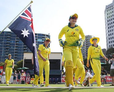 Australia clean sweep series at CitiPower Centre