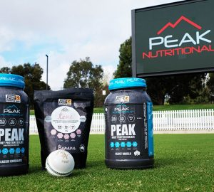 Cricket Victoria welcomes Peak Nutritionals partnership