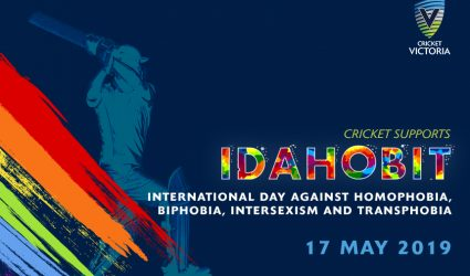 Cricket Victoria recognise IDAHOBIT to show cricket is a sport for all
