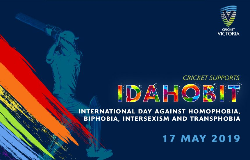 05d96987850e Cricket Victoria recognise IDAHOBIT to show cricket is a sport for all